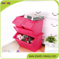 PP high quality home use cheap plastic container box