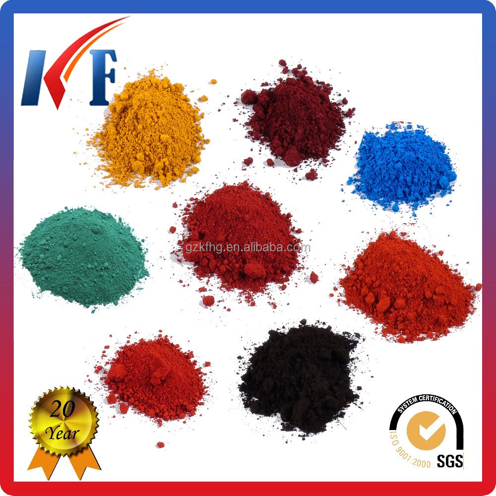 Inorganic Pigments Iron Oxide Pigments For Epoxy Floor Paint