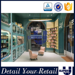 OEM/ODM Customization service cosmetic shop interior design for sale