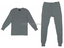 Flame Resistant John Set - Long Sleeve Pullover & Long Pant Thermal Underwear