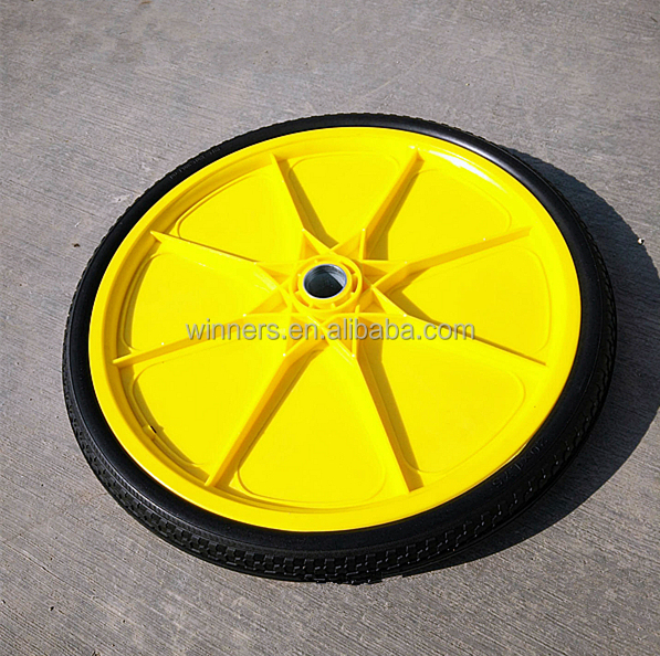20 inch dining car inflatable plastic wheel