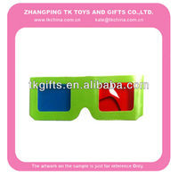 3d toy paper glasses