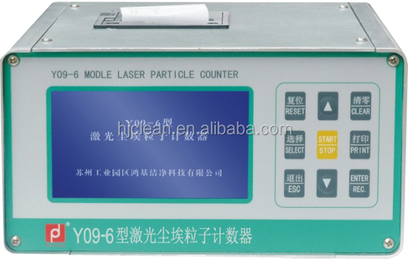Airborne Particle Counter Y09-6LCD