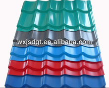 stone chip style color coated galvanized steel tile/Roof of the tile