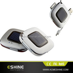 Mini Portable Power Bank mini portable solar Charger For smartphone & iphone