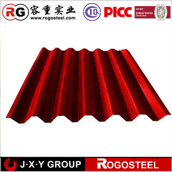 curve hot price corrugated sheet steel