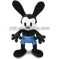 black mouse stuffed cartoon toys for kid gifts