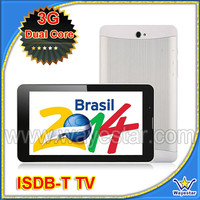 7'' MTK6572 Dual Core 3G Android Phone Tablet 2SIM Support GPS BT ISDB-T TV