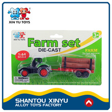 Cheng hai factory diecast 1:64 custom alloy metal farm tractor toy for sale