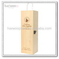 Small Wooden Wine Packaging Box