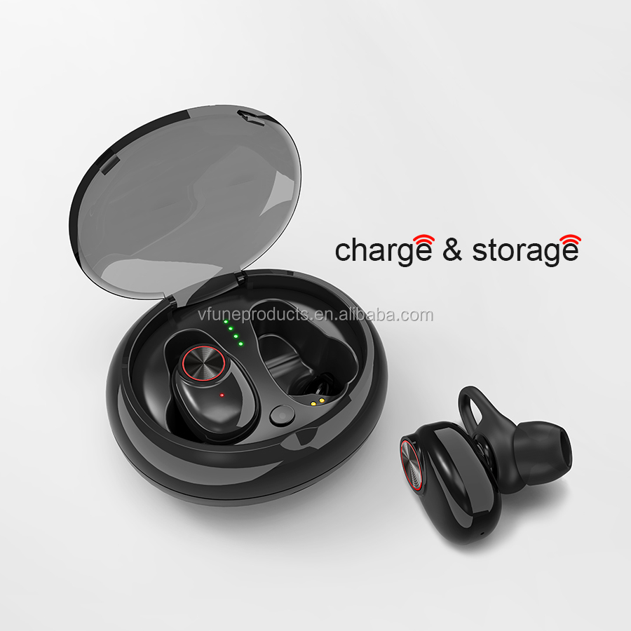 EB010 Wireless Earphones Headphones Handfree Handset TWS Earphones with Charging Box