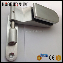 Commercial aluminium glass door hinge for 8 to 12mm glass