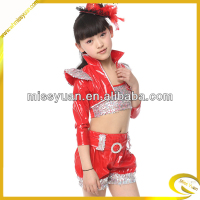 china country girl red dance jazz costume