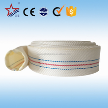 China Leading Factory Iso And Ce Approve Pvc Material White Color Different Types Fire Fighting Hose Price