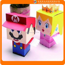 Cartoon character paper crafts