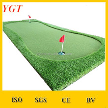 Professional high qulity portable golf /golf practice mat/golf putting green