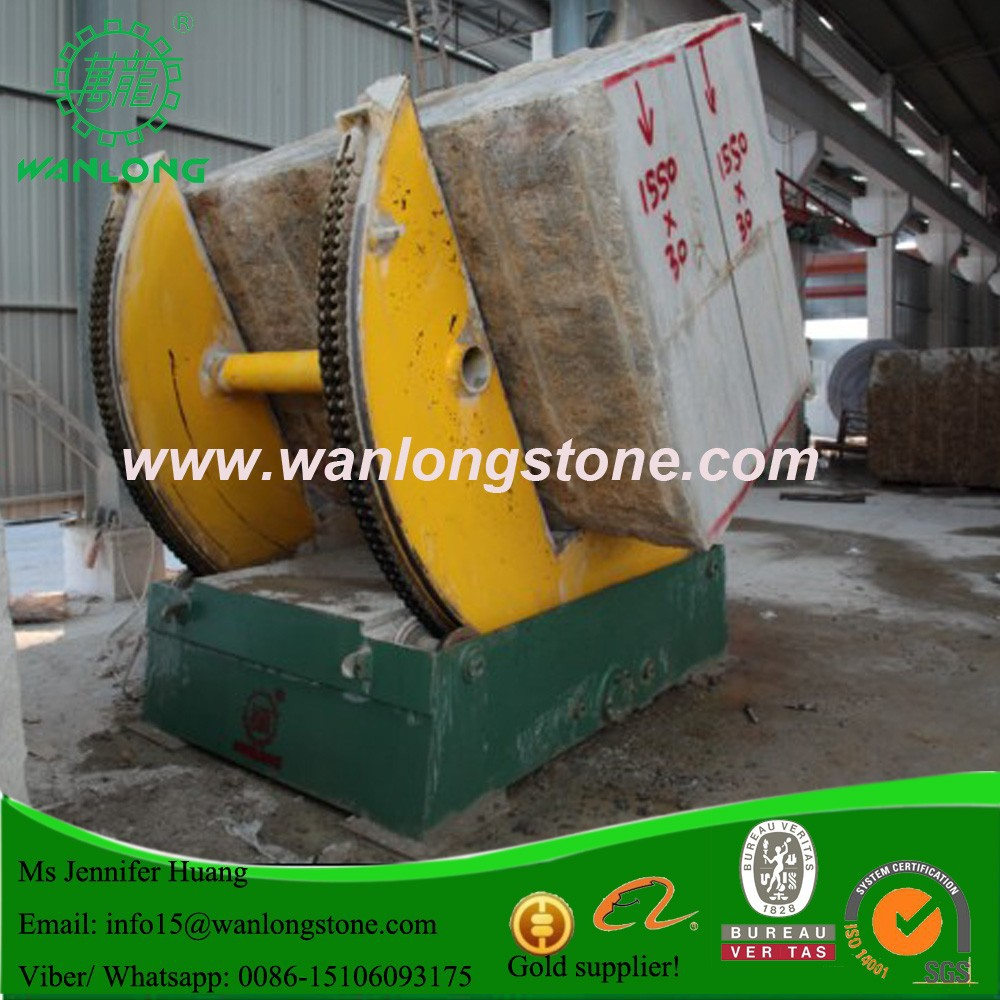 FSJ-35 Wanlong Granite Tilting Machine, Block holder, for Granite Block