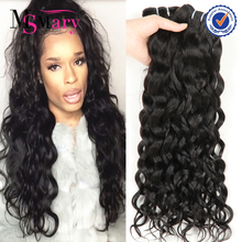 Indian Hair Raw Unprocessed Virgin Temple Hair,Wet And Wavy 100% Human Hair