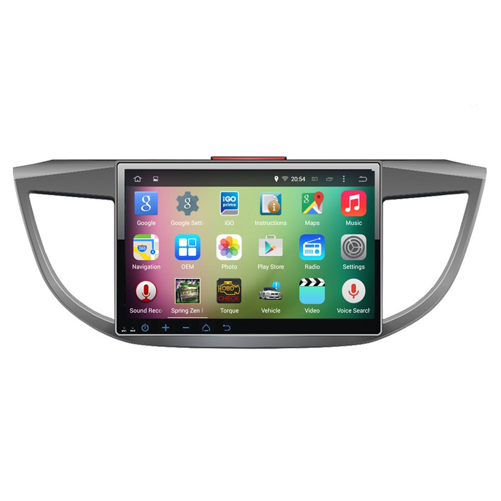 "OEM A9 Quad core Pure Android 5.1.1 HD 1024*600 16GB Mirror-Link 10.1"" Car DVD Player GPS Stereo Radio For Honda CRV 2013"