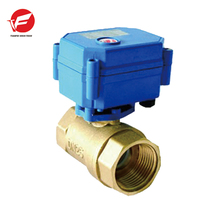 CWX-15q motorized ball electric hydraulic flow control valve