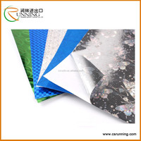 Silver and colorful Holographic self adhesive Vinyl Wrap Sticker Decal Film Sheet