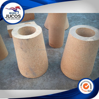 Sleeve brick for steel casting industry