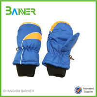 Winter sports colorful insulated children heated waterproof gloves