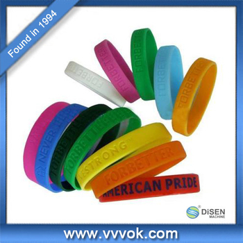 Newest design popular fashion memorial silicone wristbands