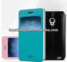 2014 Newest Smart Mofi Flip PU Leather Cover Case for Meizu MX2