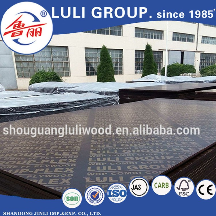 18mm black browm film faced plywood/construction plywood