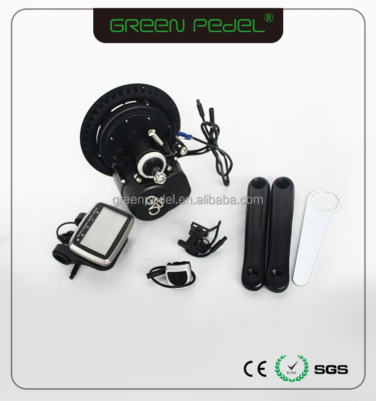 Green Pedel/OEM TSDZ2 350watt mid motor electric ebike kit China