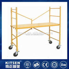 New arrival convenient to transport and store steel plank with hook for system scaffolding