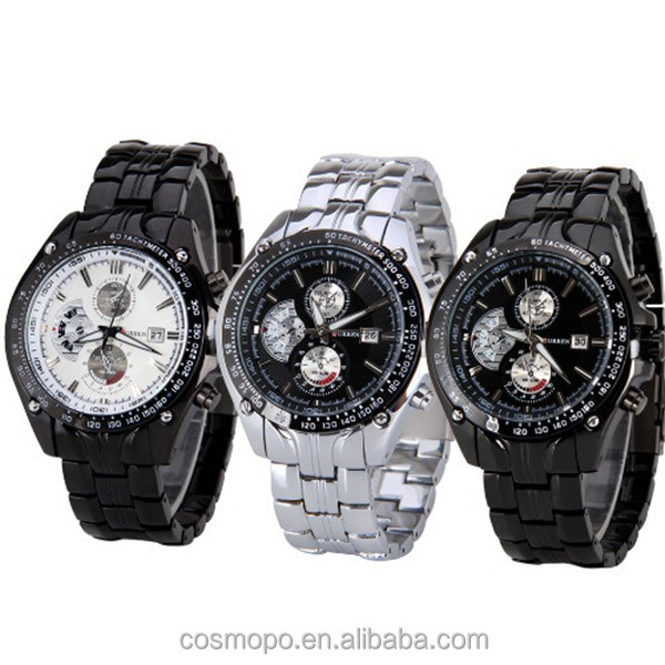 8083 stainless steel Japan quartz movement men wrist watch