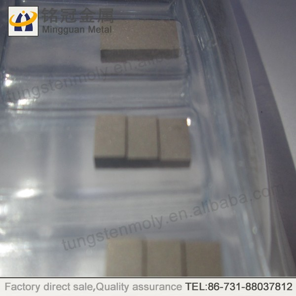 Tungsten Copper Alloy Heat Sink electronic packaging