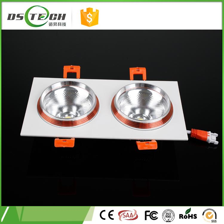 High efficiency well- designed 10w 14w double led down light