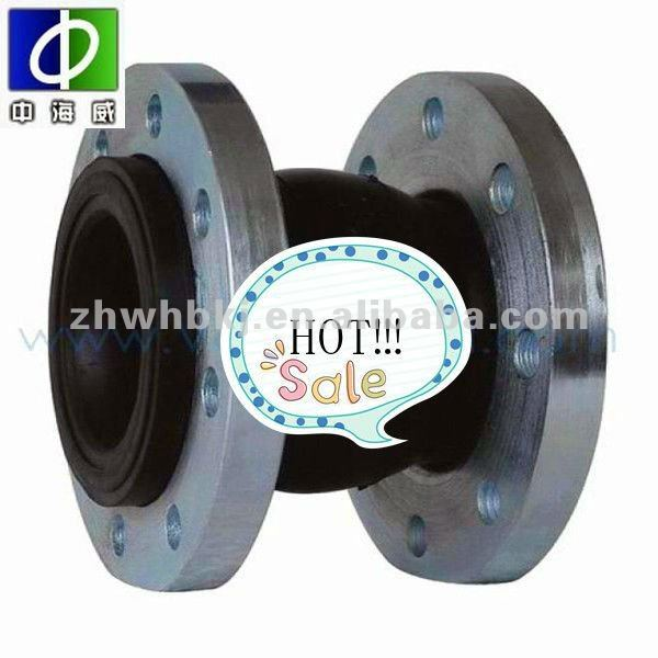 stainless steel flanged ends rubber expansion joint