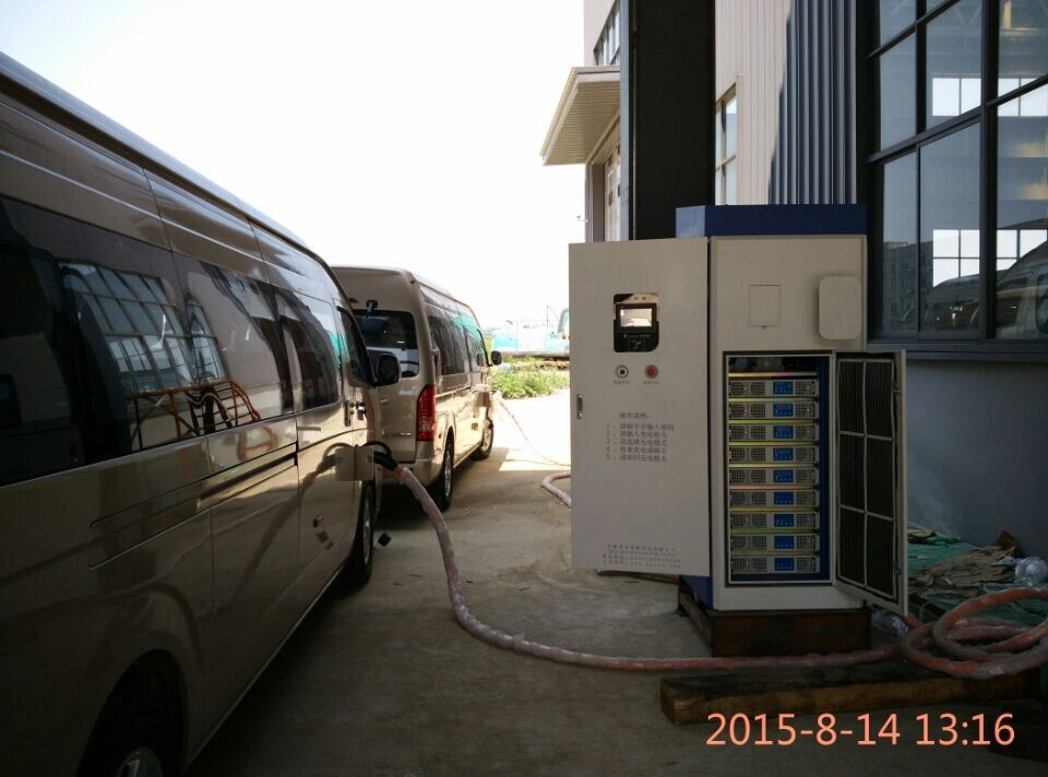 ev charging station portable for chademo Japan leaf car