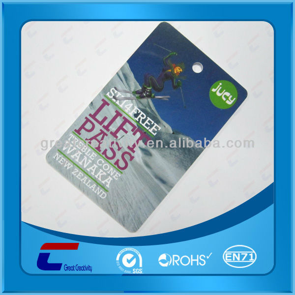 Customized Full Color Frosted PLASTIC PVC Round Corner Business Cards