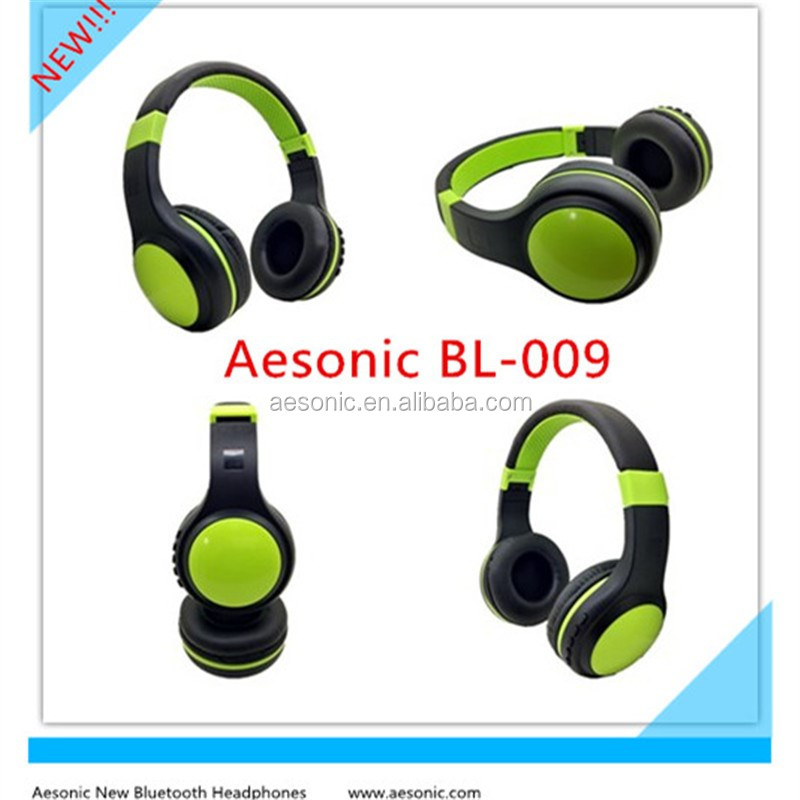 2017 Latest High Quality Corlorful Foldable Wireless Bluetooth Headphones With TF Card/ FM Radio