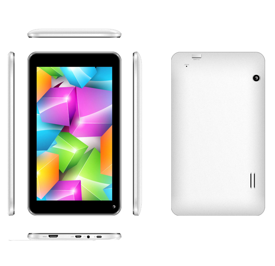 7'' A33 dual core Android tablet with WIFI 802.11b/g/n,hot sex video google play store