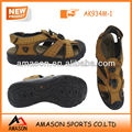 2018 new men's leather beach sandal