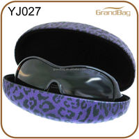 Leopard Hard Clamshell Sunglasses Hard Case