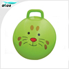 Design and logo customized Plastic PVC Gift Space Hopper Ball