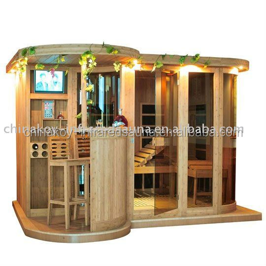 Luxury family far infrared sauna room