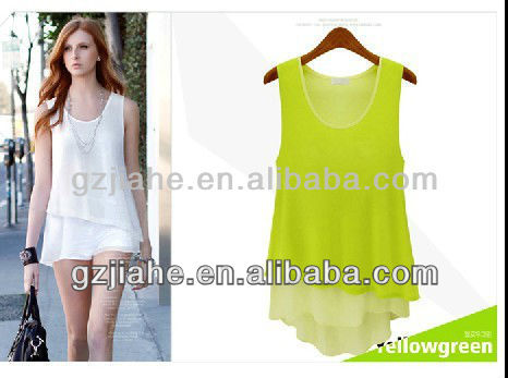 2013 lady chiffon summer dresses casual resses