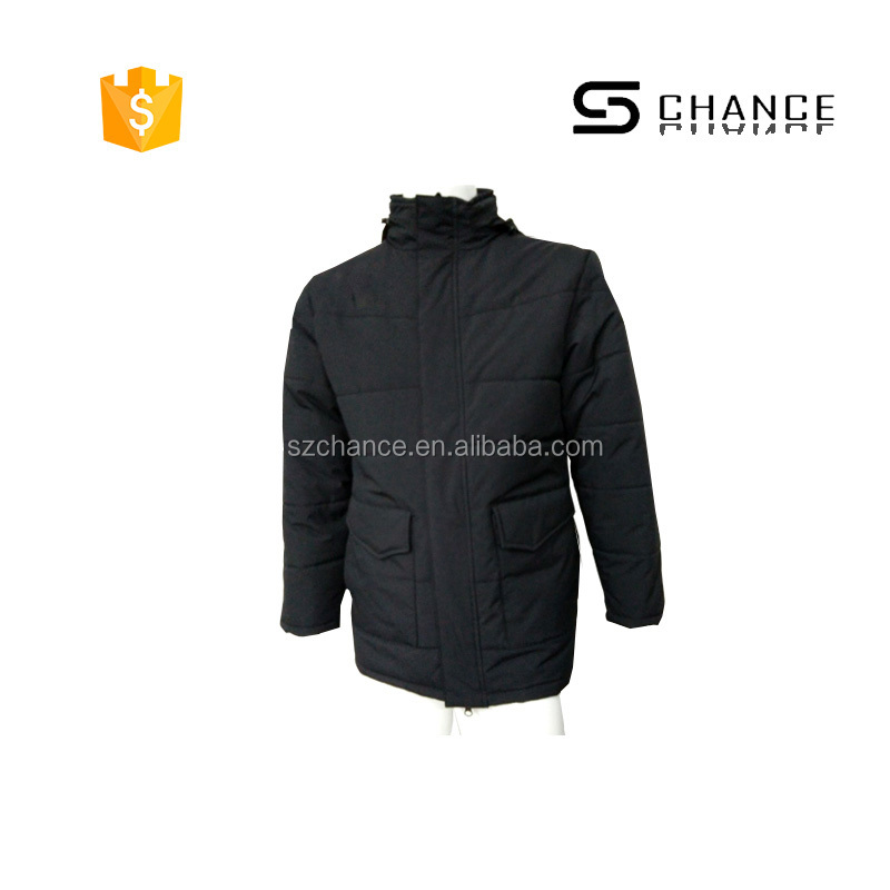 Affordable man padding polar fleece jacket