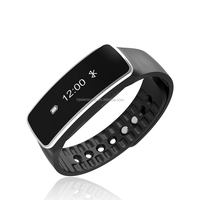 2016 Factory Price Hot Selling smart bracelet Wristband Fitness tracker Bluetooth 4.0 fitbit flex watch Silicon Bracelet
