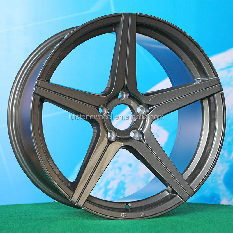via/jwl cast 19inch staggered 5x114.3 5 spokes alloy wheel rim for car from factory LuistoneWheel