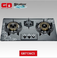 2014 hight quality enameled 3 burner gas stove
