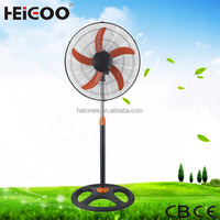 Floor Standing Electric Power Source China Industrial Stand Fan With CE Approval